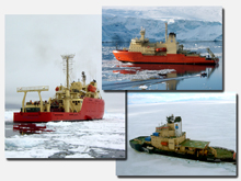 U.S. Antarctic Program ships