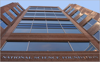 photo: NSF's current headquarters, 4201 Wilson Boulevard, Arlington, VA.