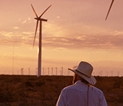 The King Mountain Wind Ranch in Texas added almost 77 megawatts to the state's wind power capacity.