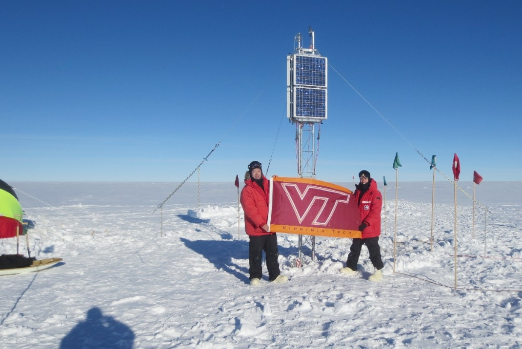 Virginia Tech Researchers in Antarctica