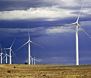 The Dry Lake Wind Power project in Arizona, another state that's developing wind power.