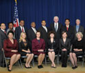 Photo  of the mentors who received their awards at a White House ceremony on Monday, Dec. 12.