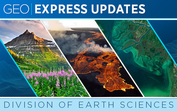Division of Earth Sciences (EAR) newsletter banner