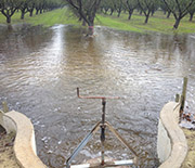 Water management practices can help replenish groundwater resources in California.