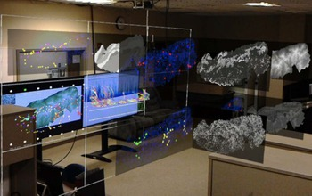 computer screens with augmented reality