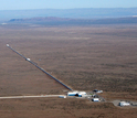 aerial view of LIGO detector