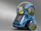 te design of driverless car GM-Segway EN-V