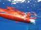 Spray glider in the water