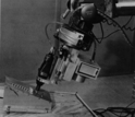A robot arm  developed in the 1970s