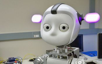 Simon the robot, developed by Georgia Tech researcher Andrea Thomaz