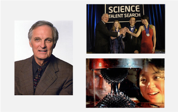 Alda, Intel's Barrett and the ASTC won Public Service Awards from the National Science Board.