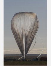 This balloon carried a solar telescope to new heights, a scientific and engineering feat.