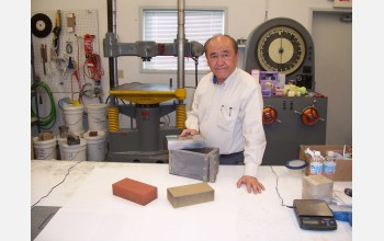 "Henry Liu developed fly ash bricks, a potential ""green"" alternative to clay bricks."