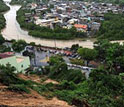 Photo of areas affected by flash floods in Rio de Janiero and vicinity.