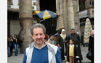Photo of Scott Atran in Damascus.