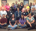 group of people who took part in the Maryland professional development workshop