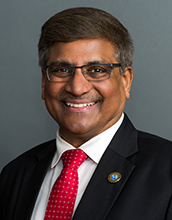 Portrait of Sethuraman Panchanathan, NSF's 15th director.