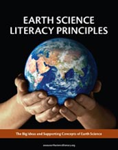 Cover of NSF report on earth science literacy importance.