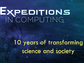 Expeditions in Computing title