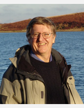 Photo of geographer Michael Goodchild.