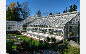 Photo of a greenhouse.