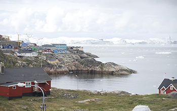 Ilulissat, known as the city of icebergs