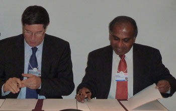 Dell'Ambrogio and Suresh sign GROW agreement