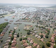 Hurricane Harvey's torrential rains led to tremendous floods in Texas.