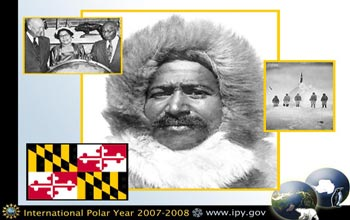 Photo of Matthew Henson, the first person to reach the North Pole.