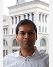 Photo of NYU's Sughash Khot, this 2010 recipient of NSF's Alan T. Waterman Award.