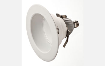 Image of Cree's CR6 LED Eneergy Star certified downlight.
