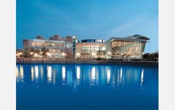 Photo of the Maryland Science Center at Baltimore's Inner Harbor.