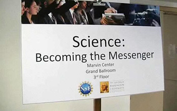 Science: Becoming the Messenger workshop
