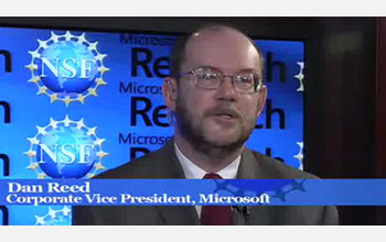 NSF's Jeannette Wing and Microsoft's Dan Reed discuss a new agreement between Microsoft and NSF.