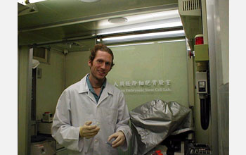 Mike Wininger at the Industrial Technology Research Institute in Hsinchu Xian, Taiwan