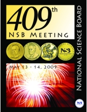 Cover illustration of the National Science Board's materials for its upcoming meeting