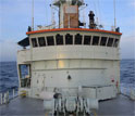 Oceanus research vessel