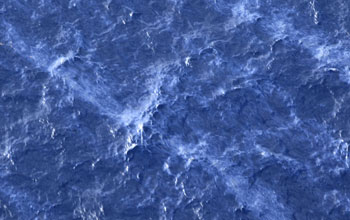 Oil sheens overlying the wreckage of the Deepwater Horizon seen from the air