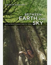 Photo of book by NSF-researcher Nalini Nadkarni on trees for general audiences.
