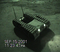 A search-and-rescue robot in action in the aftermath of september 11