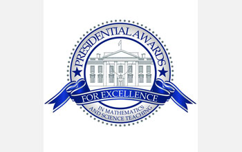 Presidential Award for Excellence in Mathematics and Science Teaching logo.