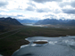 aerial view of Dalton Highway, Alaska
