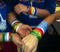 student anti-conflict wristbands