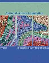 NSF Budget Request to Congress FY 2005 cover