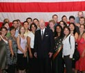 Photo of Summer Institute in China, Class of 2007, with the U.S. Ambassador to China.