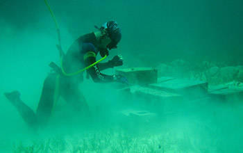 constructing an artificial reef
