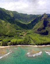 Photo of the Hawaiian landscape