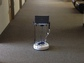 One of the Rochester Institute of Technology's educational co-robots roams the hallways.