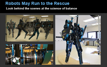 Slideshow image showing robot walking