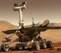 A full-scale mockup of the Mars Exploration Rover will be on display at the NSF robotics exhibition